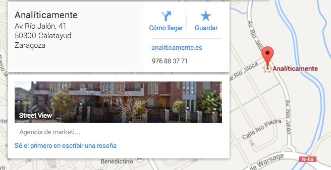 Por qué aparecer en Google Places