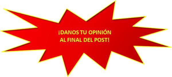 Danos tu opinión